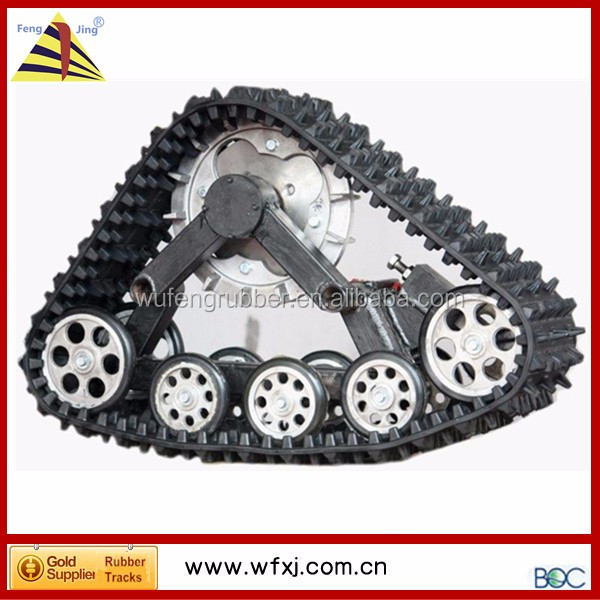 ATV/ UTV rubber track 4x4 parts