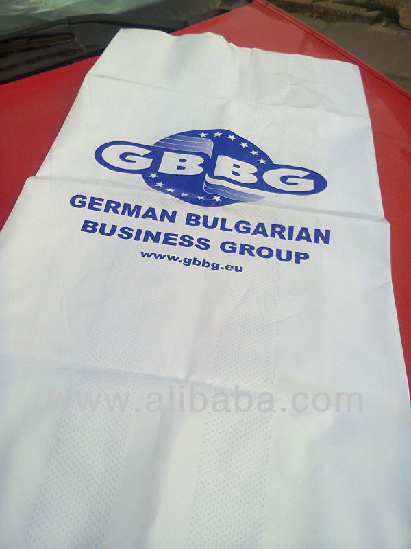 Embossed Plastic Bags, Fertilizer Bags, Salt Bags - Produced in Turkey