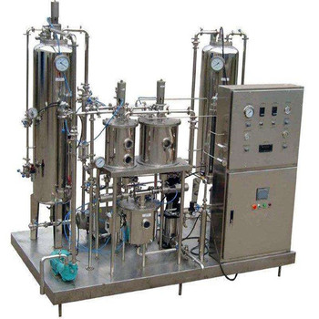carbonated drink mixing machine