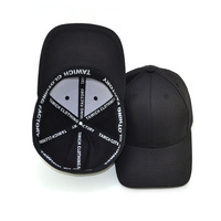 6 Panel Blank Fitted Baseball Hats