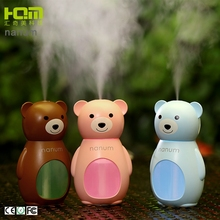 Latest Items Cheap Mist Humidifier Novelty Kids Promotional Gift with Led Night Light
