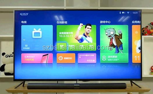 Brand New Xiaomi tv 3 60-inch ultra-thin 60 inch 4K Display Android smart television Mi TV 3
