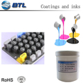 Oil base screen printing ink for silicone keypads