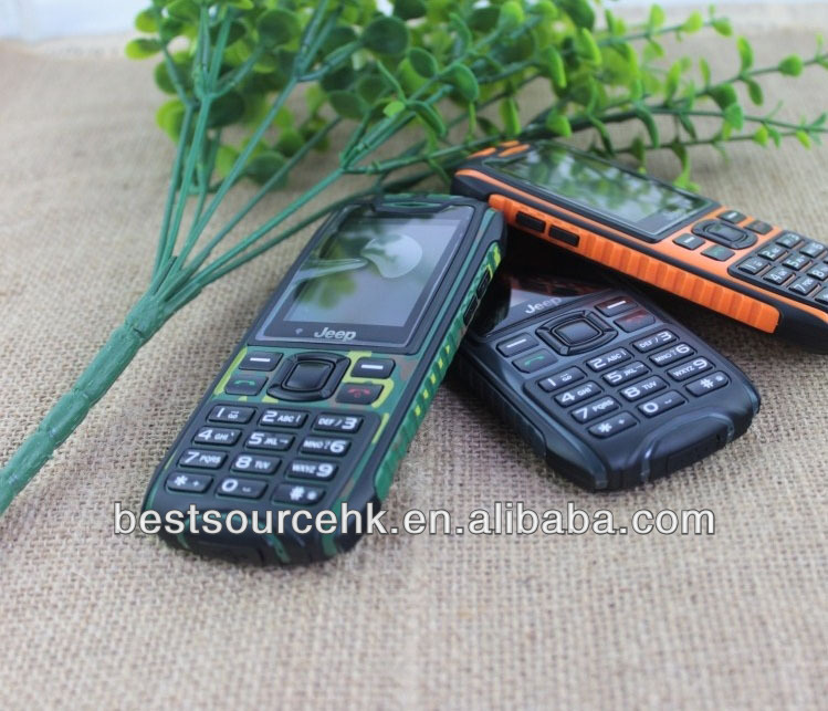 Protable long battery small size outdoor cell phones, QWERTY Keyboard rugged phone