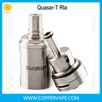 Newest 23mm Quasar-t rta 3ml Peek Insulator quasar-t clone great flavor quasar t