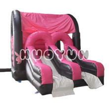 2018 Guangzhou Supplier Colorful Commercial Rabbit Inflatable Bouncer Slide Combo,Business Inflatable Bouncers Combo For Kids