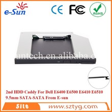 With Eject Button E6400 2nd Hard Drive Caddy For Dell E6500 E6410 E6510 With Great Martketing Demand