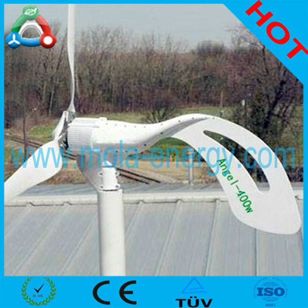 Lowest Price HAWT 50W 3 Blades Mini Wind Turbine Small Model