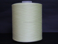 Dyed 100% spun polyester in china wholesale for textile