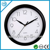 Cheap small round Plastic wall Clock for promotion