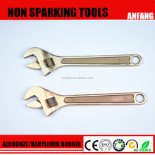 Explosion Proof Safety Copper Beryllium Universal Screw Clyburn Torque pin Adjustable Spanner