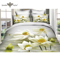Latest Design Digital Print bedding sets/3d duvet cover set/bed sheet set in bag / bed linen