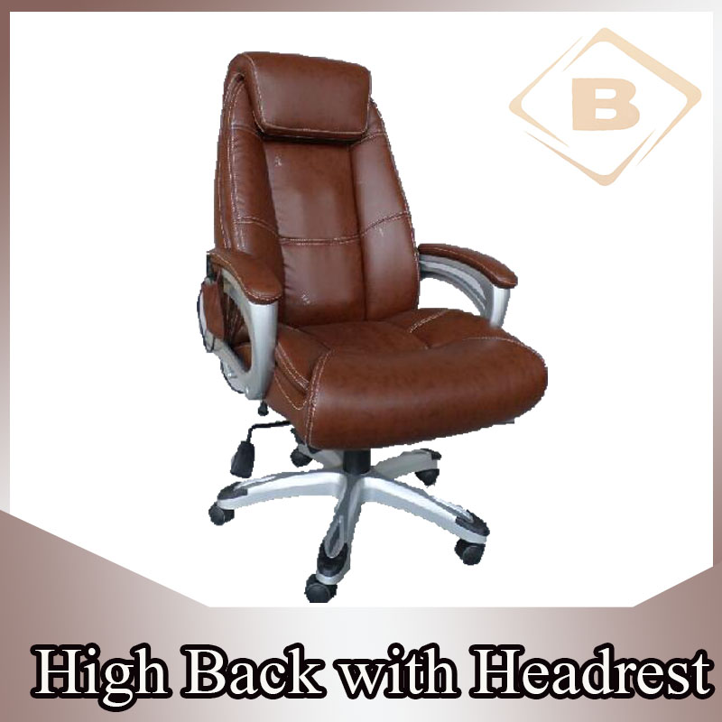 Executive Ergonomic Heated Massage Office Chair with Office Chair Armrest