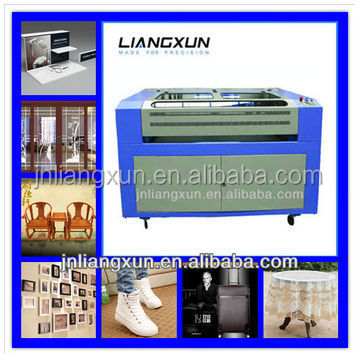 high efficiency double-head laser engraving and cutting machine for cutting rubber LX1610T