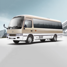 Hot Selling JAC Ankai Mini Coaster Bus with free parts for Sale