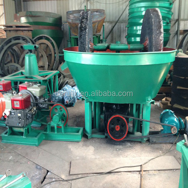 Alluvial and Rock Gold Ore Grinding Gold Machine Plant