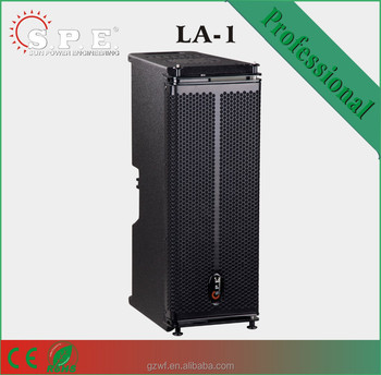 spe audio LA-1 dual 6.5 inch mini pro line array