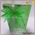 paper mesh colorful new style flower pot support