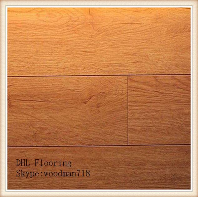 Hardwood floor mirror