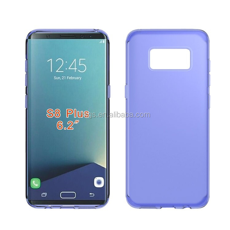 Full Clear Soft Gel TPU Cover Case For Samsung Galaxy S8 Plus