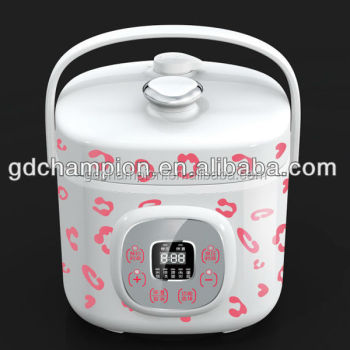 Mini fashion 2L electric pressure cooker