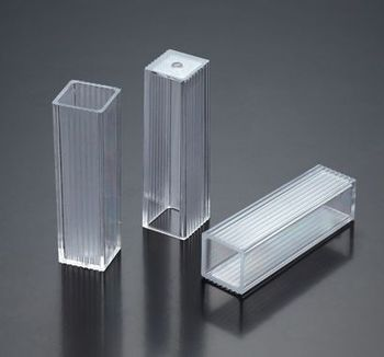 PS Material Two Optical Plastic Cuvette