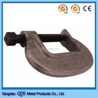 Forging formwork clamp