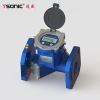 Industrial Standard ultrasonic dual channel water meter
