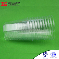 Promotional Disposable Transparent Plastic CupDisposable Plastic Tea Cup And Saucer