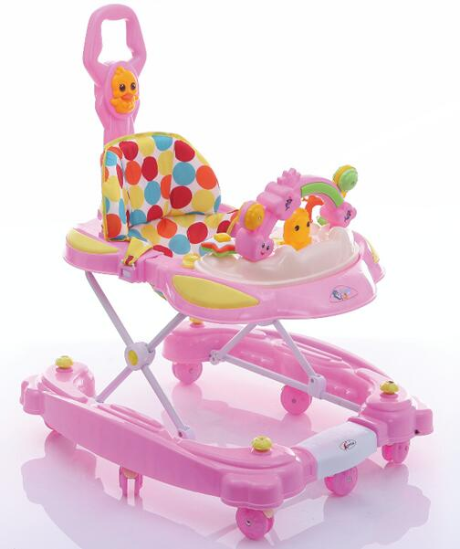 Baby Product Baby Activity Walkers with suitable seat/pink baby walker/child walker