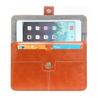 For apple samsung sony lenovo asus 8 inch 10 inch Genuine PU Leather Tablet Cover Sleeve Case bag