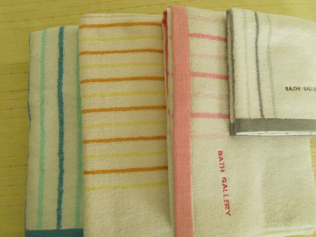 100% cotton yarn dyed embroidery bath towel