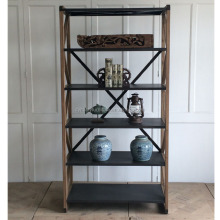 industrial style furniture wholesale bookshelf for display