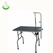 Fashionable stainless steel dog grooming table