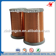 Enamel Coated Copper Winding Wire Superfine Polyurethane Enameled Round Copper Wire