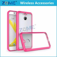 For HTC Bolt Case Acrylic Anti-Scratch & Anti Slip Clear Hard Back Cover Protector Mobile Phone Cases