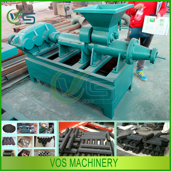 3-5t/h industrial charcoal powder extruder/coal briquette making machine for sale