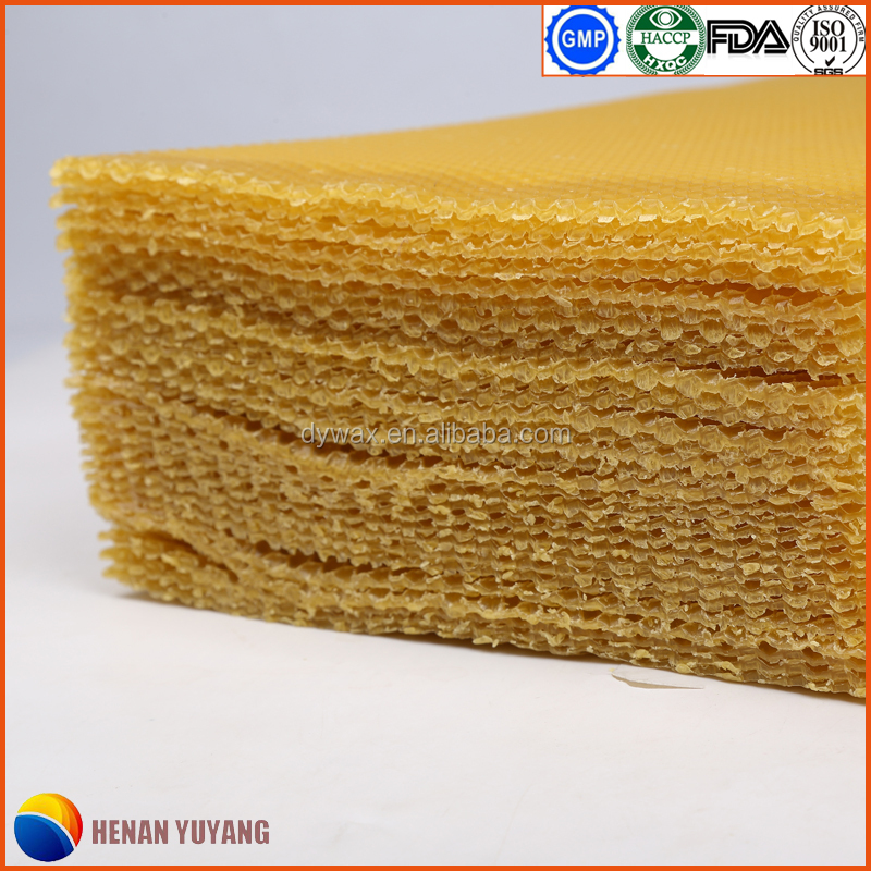 Hot Selling Factory Wholesale Best Quality Pure Beeswax Foundation Sheets
