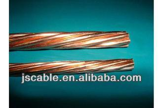 Better price Copper Clad Steel / CCS conductor 30% conductivity,40% conductivity 7#7AWG 7#8AWG