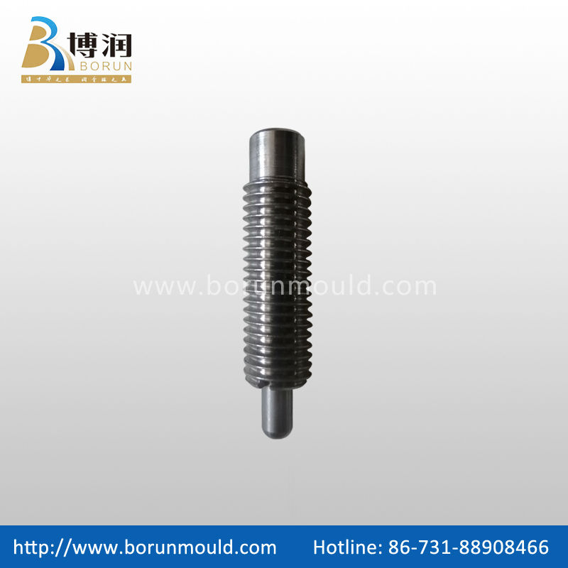 Stainless steel slotted spring ball plunger,ball plunger slotted set screw