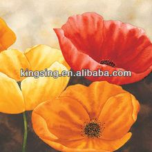single flower oil painting for living room decoration