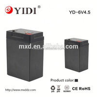 lead acid battery 6v 4.2ah rechargeable battery