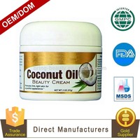 OEM/ODM/OBM Natural Face Fresh Beauty Coconut Cream with Private Label