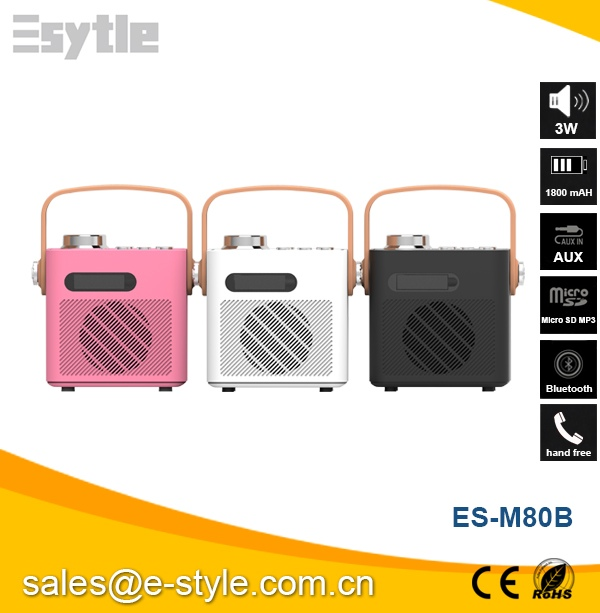 2016 wholesale rechargeable customized bluetooth mini speaker for Ipad, Iphone, Samsung, Nexus And Other Music Players
