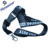 Custom flat polyester lanyard with whistle