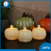 2016 hot selling Handmade Eco Friendly pumpkin candles