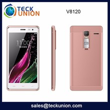 V8120 Cheapest Price Cellular Handphone Android Mobile Phone Price List Ultra Slim Smart Phone Unlocked