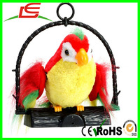 Shenzhen Sale Parrot Plush Repeat Talking Toy For Boy Gift