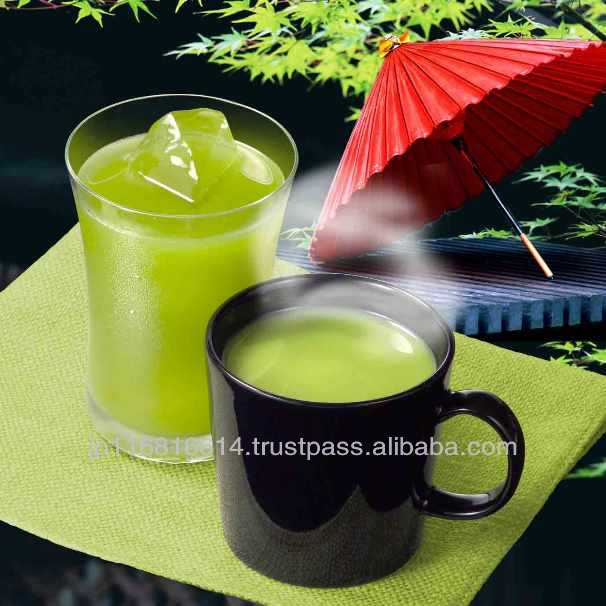 Green tea (sweet) Japanese matcha tea powder green instant drink
