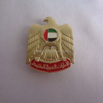 Dubai Falcon Badge Celebration Gifts for UAE National Day